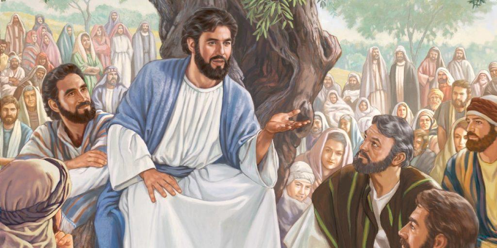 Kết quả hình ảnh cho chúa giêsu rao giảng tin mừng